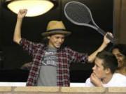 Thể thao - Quý tử nhà Beckham có thiên phú thành SAO tennis