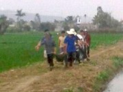 An ninh Xã hội - Nam thanh niên gục giữa đồng với gần 100 vết chém