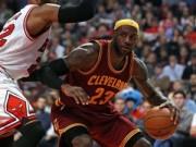 Các môn thể thao khác - NBA: Cú đảo tay ma thuật của LeBron James