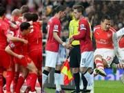 """Bóng đá Ngoại hạng Anh - Liverpool tăng tốc: MU, Arsenal """"ngồi trên lửa"""" Top 4"""
