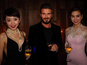 Sao ngoại-sao nội - Hồ Ngọc Hà, Tóc Tiên nổi bật bên David Beckham