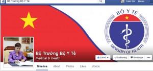 """Sức khỏe đời sống - Bộ trưởng Tiến mở fanpage: """"Facebook không phải phép thần"""""""