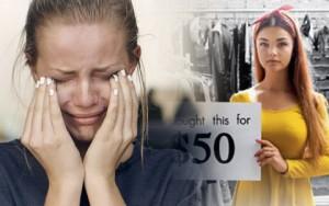Clip tín đồ thời trang khóc ngất khi làm ở xưởng may