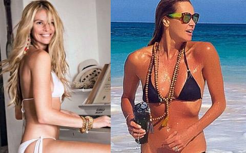 Siêu mẫu 51 tuổi mặc bikini gợi cảm khó tin
