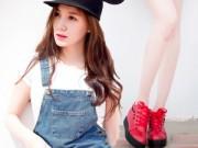 Thời trang - Xuống phố cá tính như cô gái Sài Gòn thích giày bệt