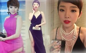 """Thời trang - Tuyển tập trang phục xẻ đùi """"siêu hot"""" của Tóc Tiên"""