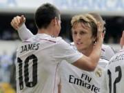 Bóng đá Tây Ban Nha - Real sa sút: Trong nỗi nhớ Modric, James Rodriguez