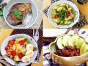 Ẩm thực - Thực đơn ngon mê li cho bữa cơm chiều Chủ nhật