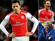 """Bóng đá - Arsenal: Oezil đang """"nhấn chìm"""" Sanchez"""