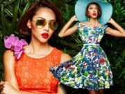 Thời trang - Nàng công sở nữ tính với họa tiết hoa mùa xuân