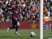 Video bóng đá hot - Messi mất 2 lượt sút 11m để đuổi kịp Ronaldo