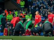 Bóng đá Ngoại hạng Anh - SAO Liverpool đổ gục vì va chạm cực mạnh
