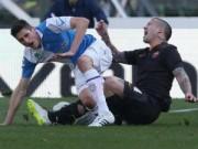 Video bóng đá hot - Kinh hoàng: Cựu sao trẻ Juventus chân gãy đôi