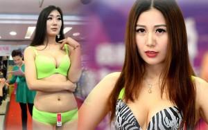 Thời trang - Mẫu Trung Quốc diễn nội y mừng ngày phụ nữ