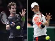 Thể thao - BXH tennis 9/3: Murray đòi lại số 4 từ Nishikori