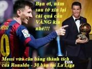 """Bóng đá Tây Ban Nha - Ảnh chế tuần 2-8/3: Messi """"xát muối"""" Ronaldo, chắc Miura không về"""