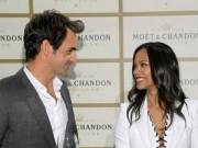 Tennis - Federer lịch lãm bên dàn người đẹp Hollywood