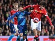 """Bóng đá - TRỰC TIẾP MU - Arsenal: Welbeck """"xát muối"""" vào MU (KT)"""