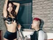"""Ca nhạc - MTV - """"Nữ hoàng"""" Lee Hyori khoe ảnh bán nude bên trai lạ"""