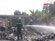 Bản tin 113 - Đốt nhựa lấy đồng, vựa phế liệu bùng cháy dữ dội