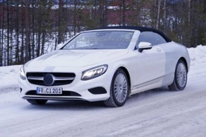 Ô tô - Xe máy - Lộ ảnh Mercedes-Benz S-Class mui trần thiết kế mới