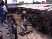 Video An ninh - Khắc phục hậu quả vụ tai nạn đường sắt ở Quảng Trị