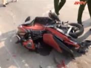Video An ninh - Lấn làn xe ô tô, người đàn ông bị container cán tử vong