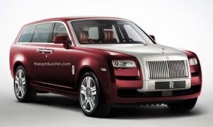Rolls-Royce SUV sử dụng khung gầm bằng nhôm