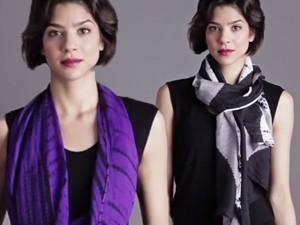 Thời trang bốn mùa - 12 cách quàng khăn nhanh mà đẹp mắt