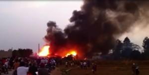 Tin tức Việt Nam - Người dân đốt rác, xưởng gỗ 1000m2 cháy oan