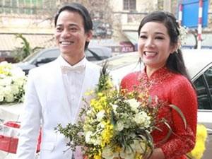 Thanh Thanh Hiền rạng rỡ trong lễ tái hôn