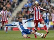 Bóng đá Tây Ban Nha - Espanyol - Atletico: Chiếc thẻ đỏ tai hại