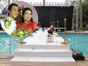 Không gian lễ cưới sang trọng của Thanh Thanh Hiền