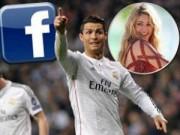 """Bóng đá - Ronaldo bất ngờ """"đè bẹp"""" bạn gái của Gerard Pique"""