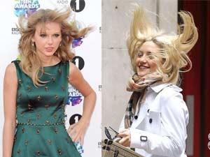 Tóc đẹp - Khi cơn gió trêu đùa mái tóc của mỹ nhân Hollywood