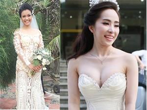 Thời trang - 5 chiếc váy cưới ồn ào được chú ý của sao Việt