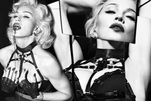 """Madonna tung bộ ảnh  """" đá đểu """"  phim 50 sắc thái"""