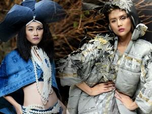 Váy - Đầm - Thiết kế Việt cao cấp gây tranh cãi trong đêm cuối