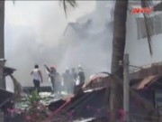 Video An ninh - Cháy dữ dội tại dãy nhà liền kề giữa trung tâm TP.HCM