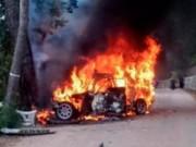 Các môn thể thao khác - Tai nạn kinh hoàng: Tay đua bị lửa thiêu mất mạng