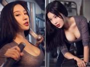 Bạn trẻ - Cuộc sống - Hot girl ĐH Bắc Kinh khoe ảnh tập thể hình đẹp hút hồn