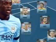 Bóng đá - Đội hình trong mơ của Toure: Vắng bóng Ngoại hạng Anh