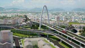 Du lịch - Đà Nẵng tổ chức cho người dân tham quan cầu vượt 3 tầng
