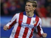 Cup C1 - Champions League - Atletico vào tứ kết C1, Torres và Simeone tri ân fan