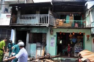 Tin tức trong ngày - TPHCM: Cháy nhà trong đêm, một em nhỏ tử vong