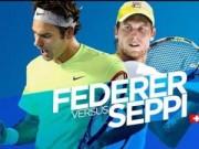 Thể thao - Hot shot: Federer chôn chân sau cú lốp đỉnh cao