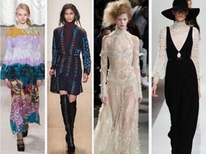 """Thời trang bốn mùa - 13 kiểu mốt """"nóng nhất"""" tuần lễ thời trang vừa qua"""