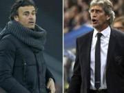 "Cup C1 - Champions League - Pellegrini ""sợ"" Messi, Enrique mơ ""Siêu kinh điển"""