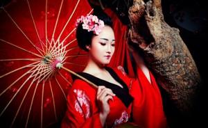 Bạn trẻ - Cuộc sống - Hot girl HV Ngoại giao hóa thân thành nàng geisha Nhật