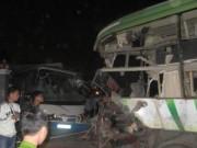 Video An ninh - Tai nạn giao thông ở TQ, 21 người Việt thương vong